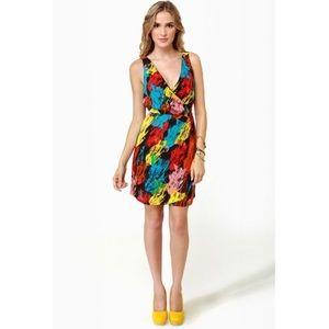 NWOT Jack. Sleeveless Rainbow Cocktail Dress